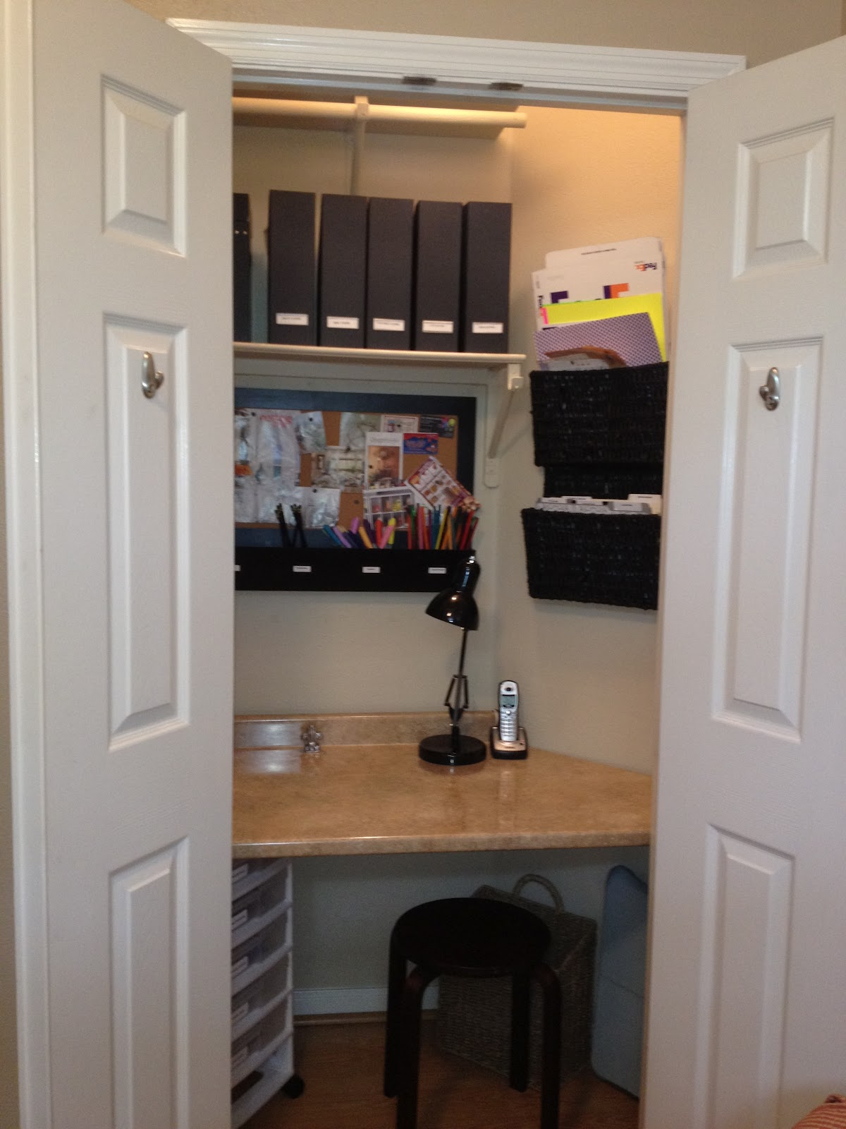 Tremendous Tiny Closet Office 17 Best Ideas About Closet Turned Office On Largest Home Design Picture Inspirations Pitcheantrous