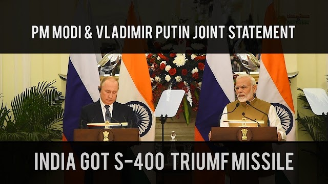 PM Modi Welcomes Putin With Hug, Focus On S-400 Missiles Deal