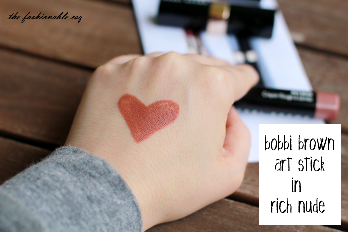 Bobbi Brown Art Stick pencil in Rich Nude