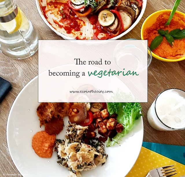 The road to becoming vegetarian
