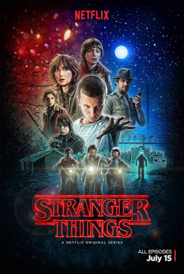 Poster oficial Stranger Things 2016