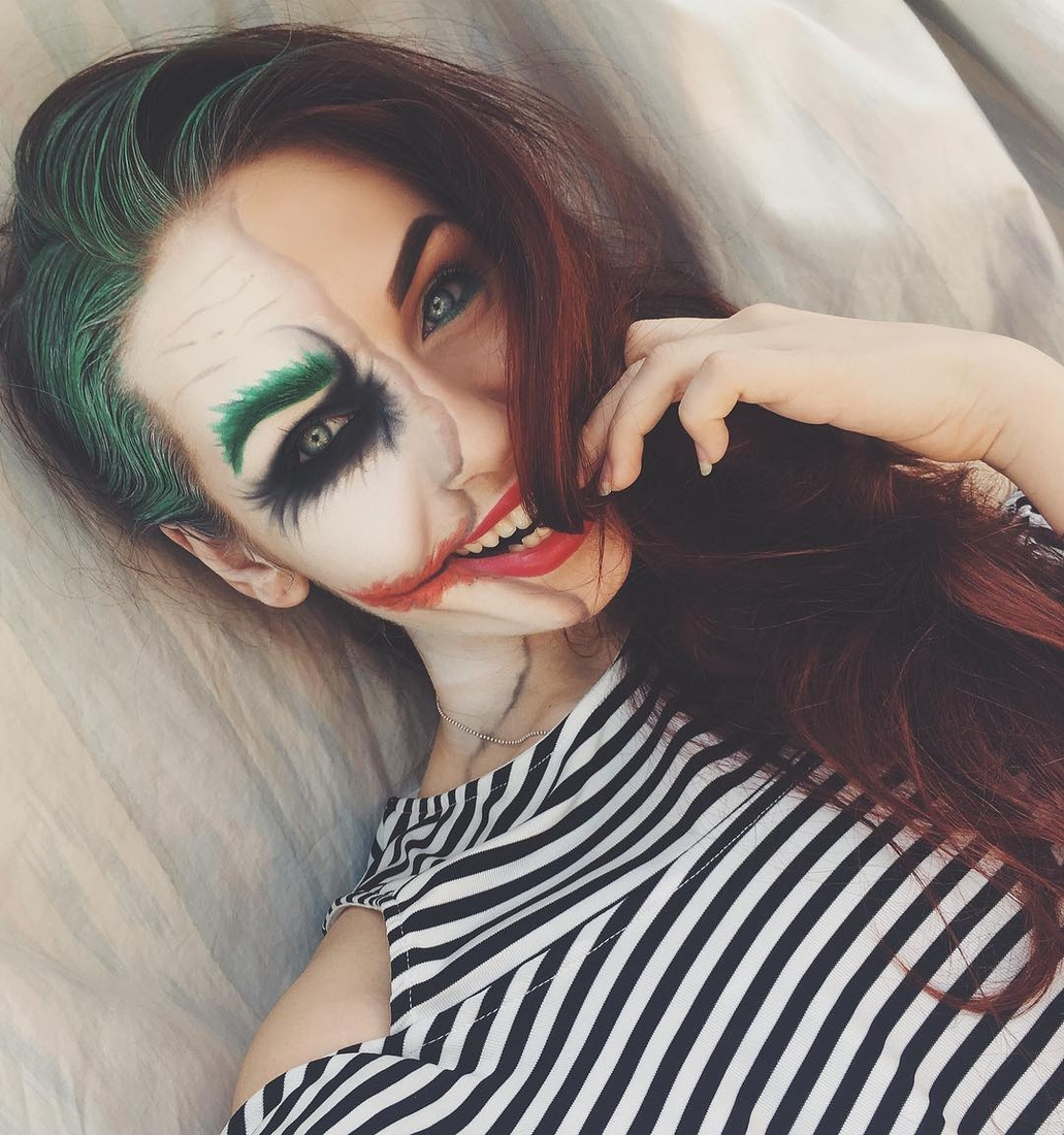 08-The-Joker-Nadia-Body-Painting-Shapeshifting-Makeup-Effects-www-designstack-co