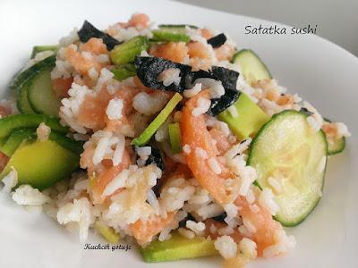 Sałatka w stylu sushi