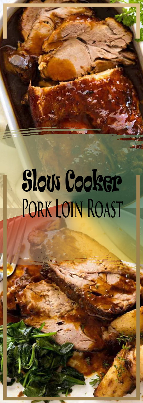 Slow Cooker Pork Loin Roast Recipe