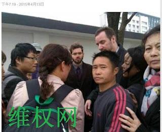 请援助、拯救反腐败反暴政的血性公民林炳兴(图)
