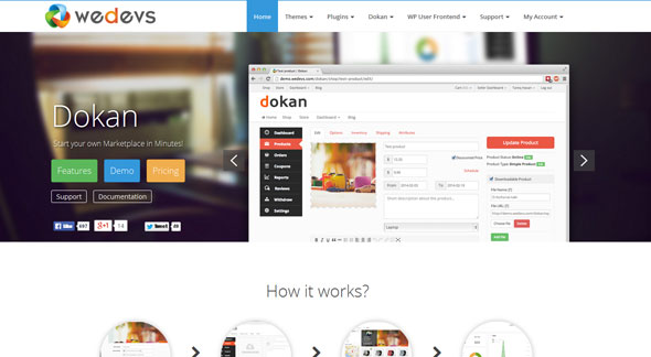 Free Download-Dokan Multi-Vendor V2.2 Wordpress Theme