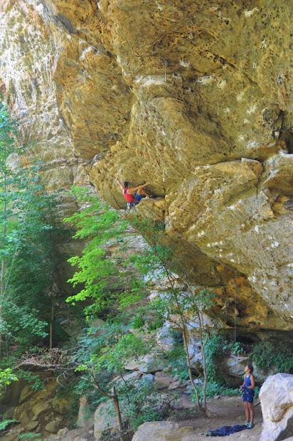Climbers Red River Gorgeous Karen Varga