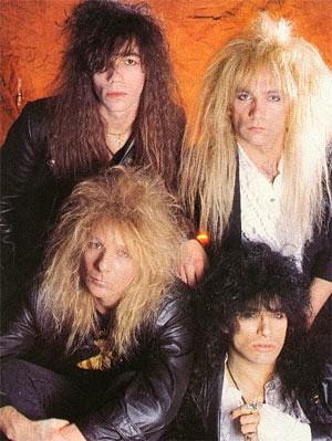 Britny Fox 80s glam metal hair