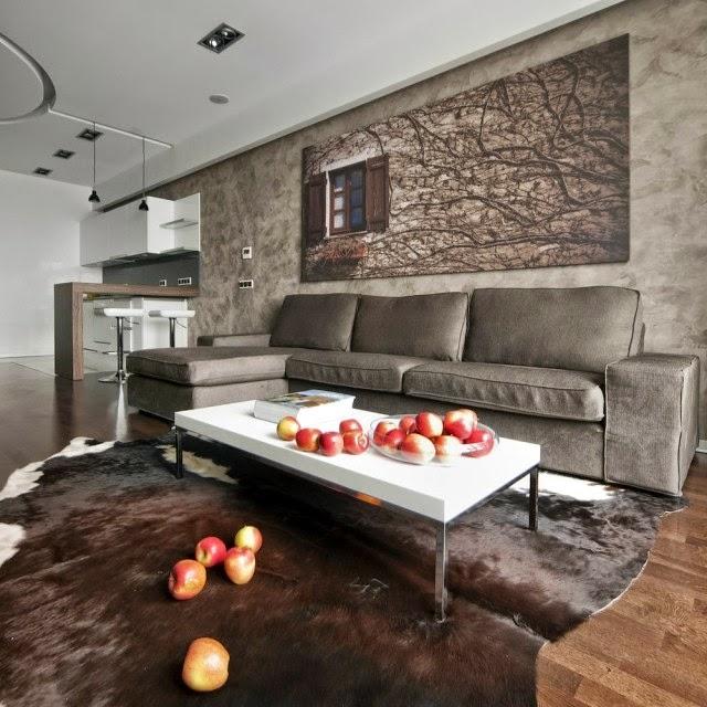 sala y cocina un ambiente