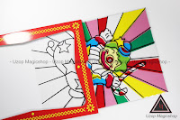 Jual alat sulap coloring Clown