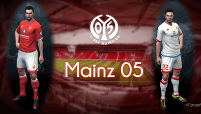 78d4727a4a2 PES 2013 FC Mainz 2016 17 Complete GDB Kits (With GK Kits)