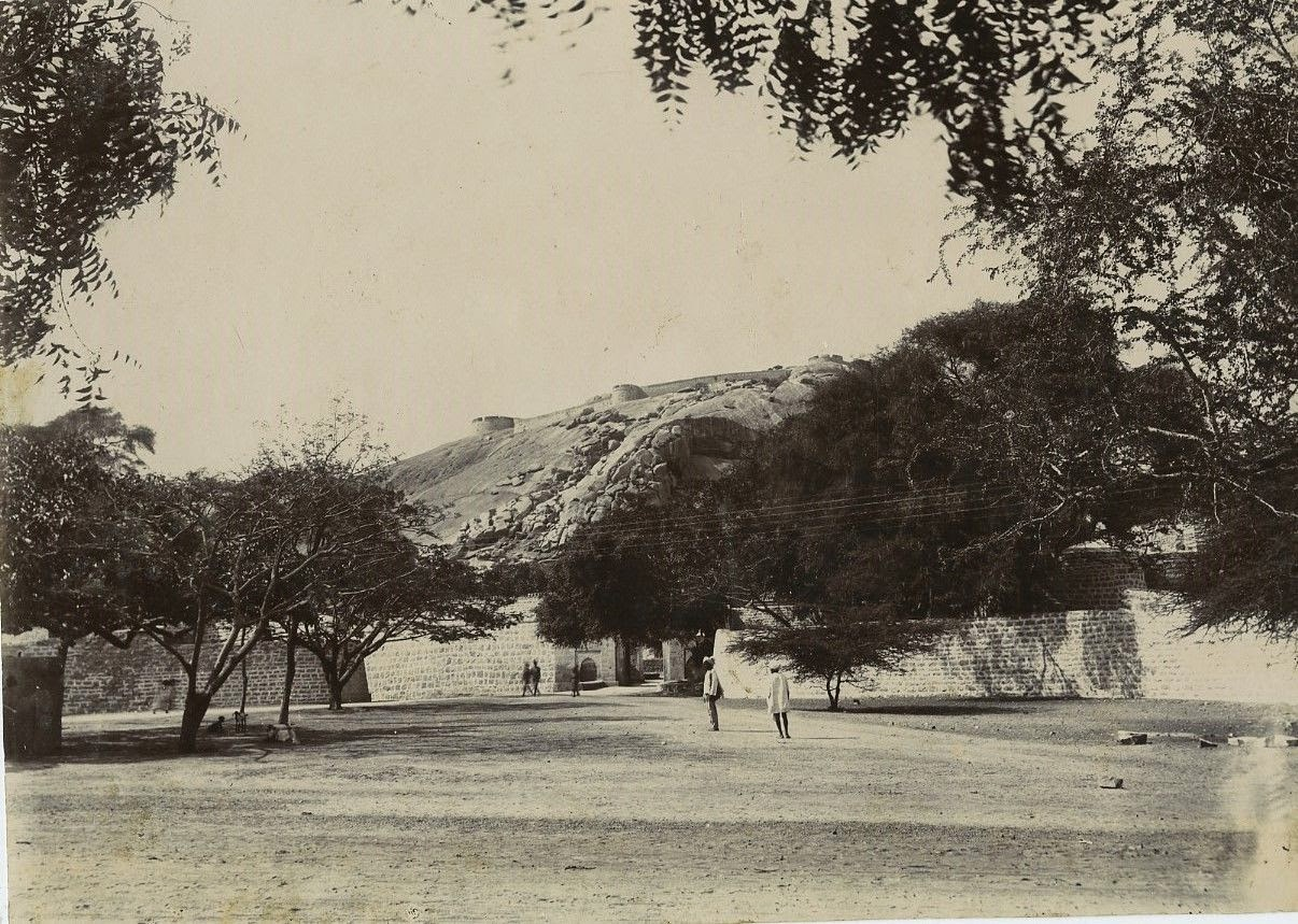 West Gate Of Bellary Fort in Karnataka - c1900's