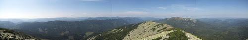 Panorama z Sywuli Wielkiej.