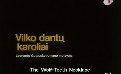 Ожерелье из волчьих зубов / Vilko Dantu Karoliai / A Wolf Teeth Necklace. 1997.