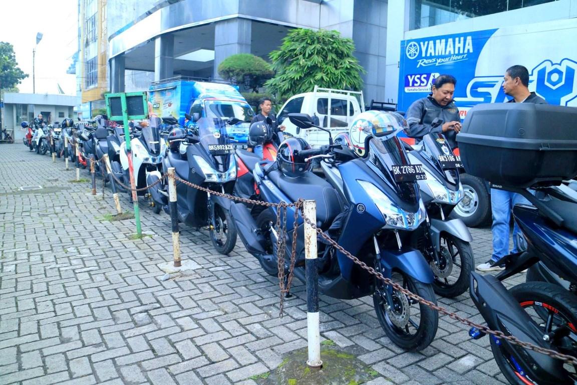 Intip keseruan touring Yamaha Lexi ke Pariban Sidebuk-debuk !