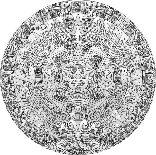 De Todo Un Poco: Calendario Azteca