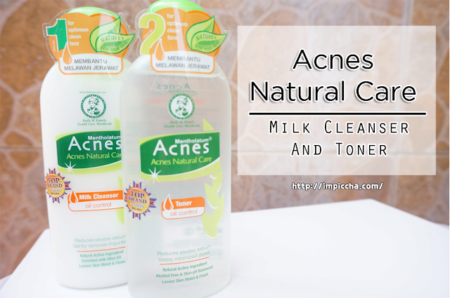 Acnes Natural Care Oil Control Milk Cleanser And Toner