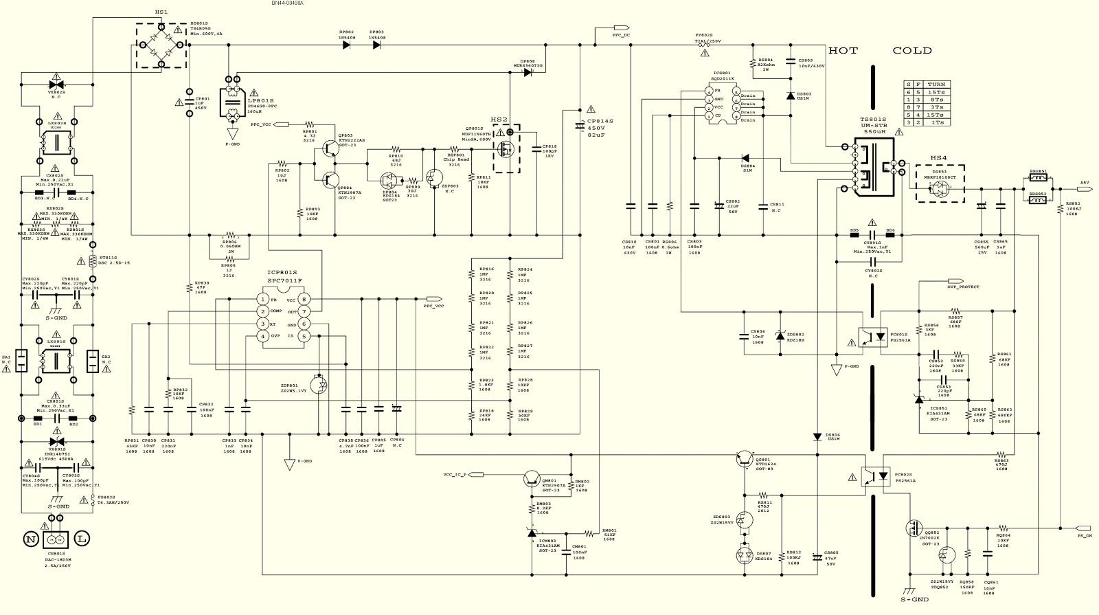 medium resolution of samsung led lcd tv un46eh6000f power supply led board bn44 00498a led circuit diagram samsung