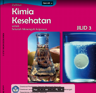 Download  Buku Paket Kimia Kesehatan Jilid 3 SMK Kelas 12 Kurikulum 2013 .PDF - Cerpen45