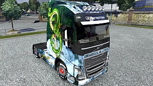 Chinese Dragon skin for Volvo 2012