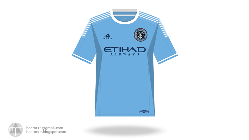 separation shoes ca821 701a9 Beetot Kit: New York City FC Kit 2016