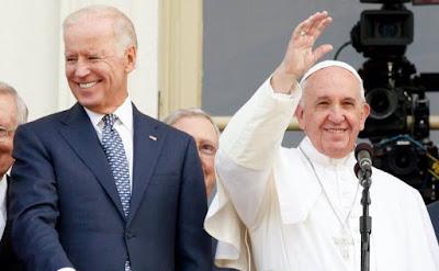 Biden abd Pope
