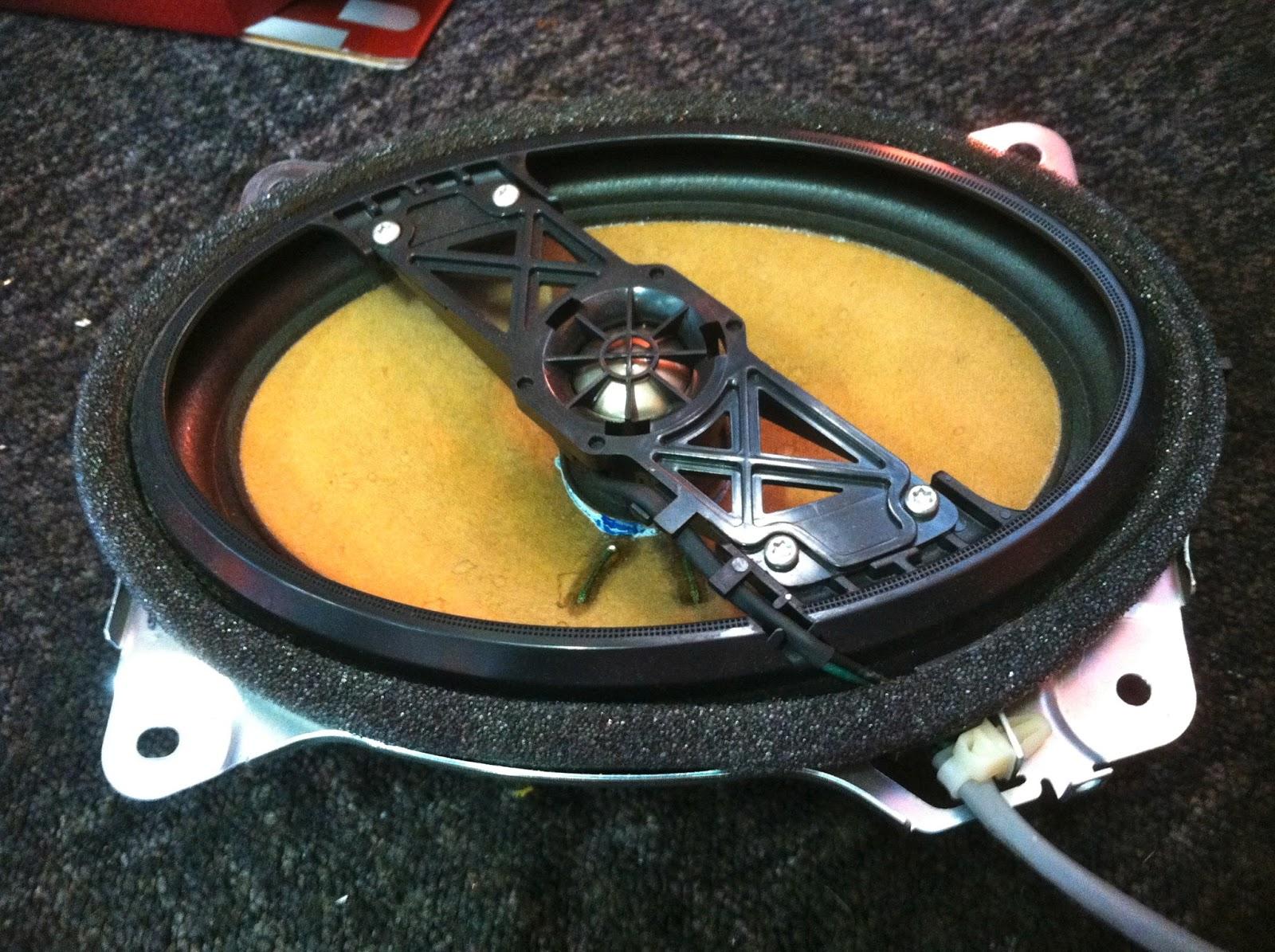 medium resolution of toyota camry factory rear speakers