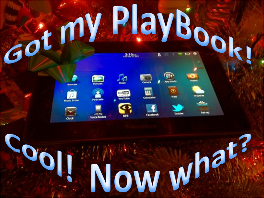 BlackBerry PlayBook Tips and Tricks