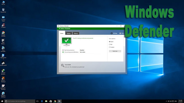 Windows Defender Windows-10