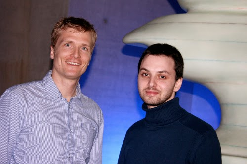 Die designenlassen-Gründer Michael Kubens und Eugen Sobolewski
