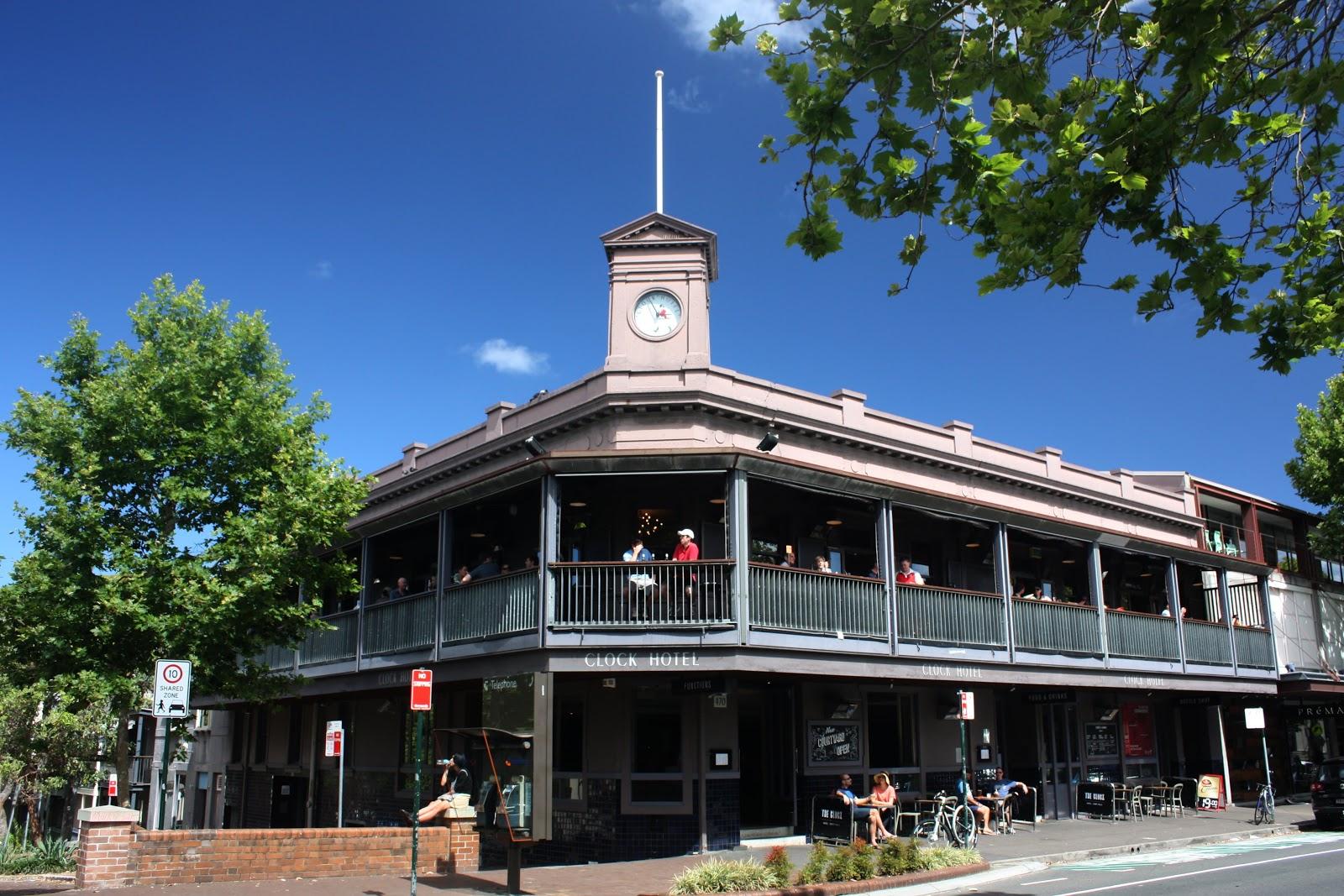 Sydney City And Suburbs Surry Hills Clock Hotel