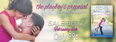 Sale Alert: The Playboy's Proposal by Ashlee Mallory