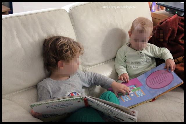 lecture entre frere petit chou petit lou