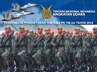 Penerimaan Tamtama PK TNI AU Tahun 2015 Gel. I