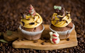 Wallpaper: Chocolate Cupcakes