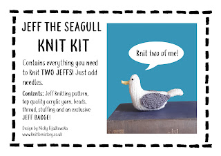 Seagull knit kit