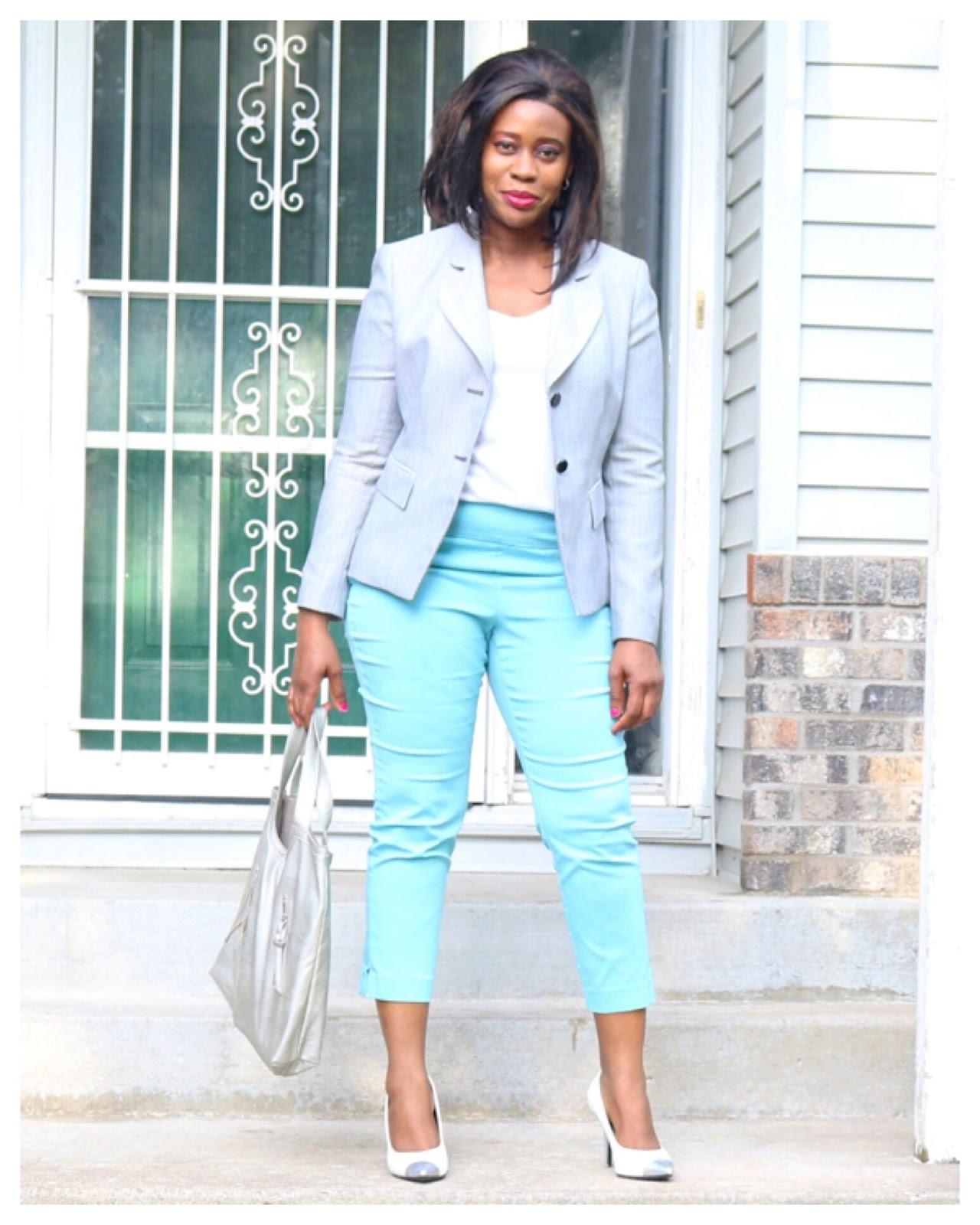 Fashion Beauty Zone: Beauty's Fashion Zone: Pastel's Work Style: Light Blue
