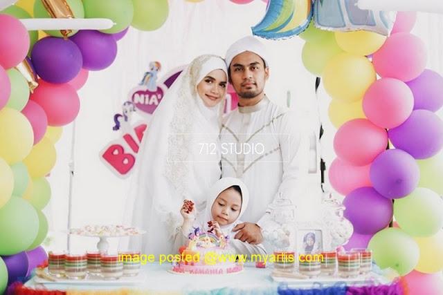 43 Gambar Sekitar Perkahwinan Yatt Hamzah & Majlis Hari Jadi Nia