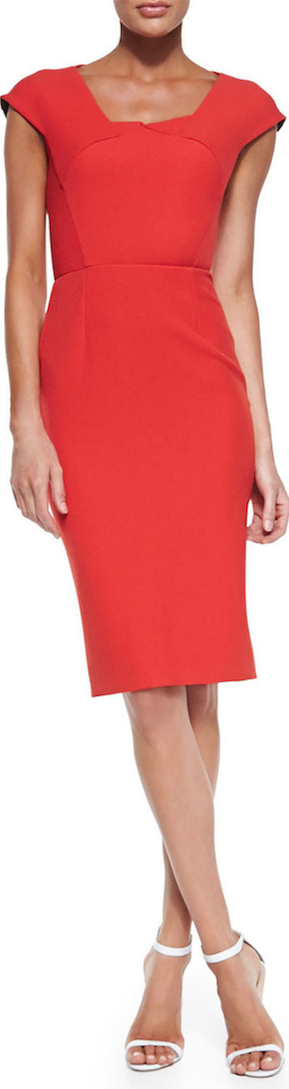 RED Roland Mouret Hirta Dress