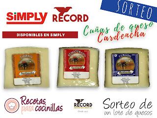 ¡¡NUEVO SORTEO DE QUESOS RECORD EN SIMPLY!!