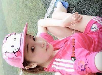 Gadis Bola- Cewek Manis-Real Madrid