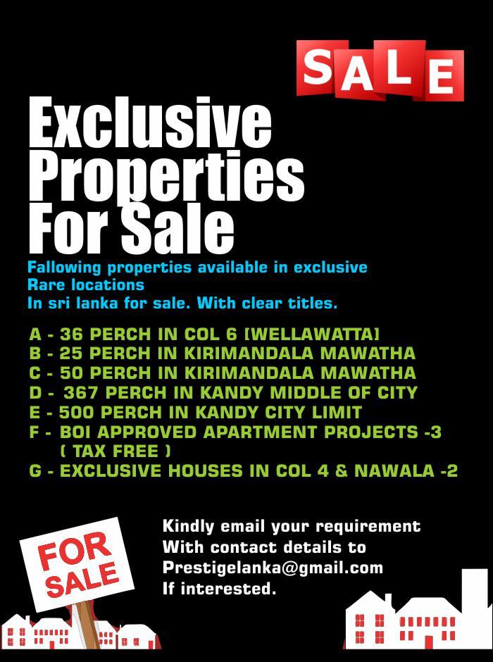 Exclusive Properties For Sale