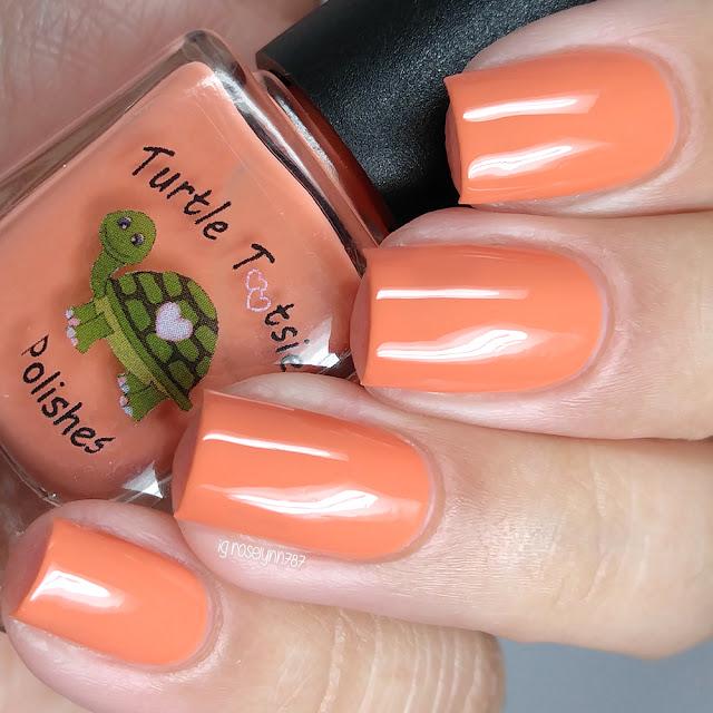 Turtle Tootsie Polishes - Orange Ranger