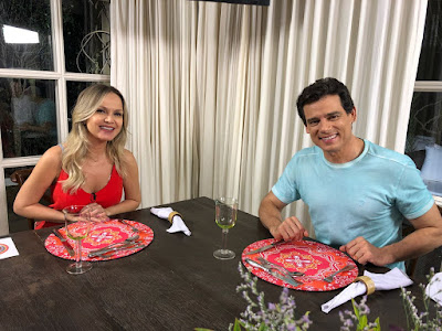 Eliana e Celso - Crédito: Divulgação/SBT