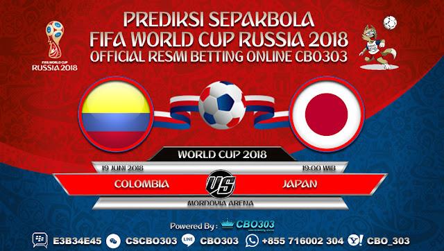 Prediksi Pertandingan Sepakbola Piala Dunia 2018 Colombia VS Japan 04 Juni 2018