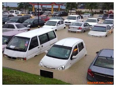 Tips Selepas Kereta Anda Ditenggelami Banjir