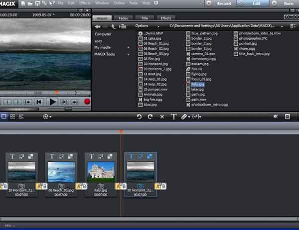 Software edit video terbaik yang bisa dicoba - MAGIX Movie Edit