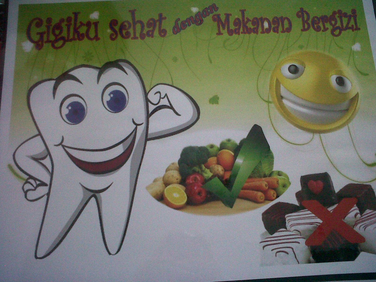 Save Your Teeth  be Smile  Poster Kesehatan Gigi