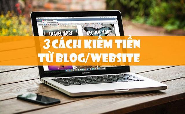 kiếm tiền từ website và blog hiệu quả