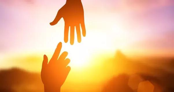 pruzam ti ruke